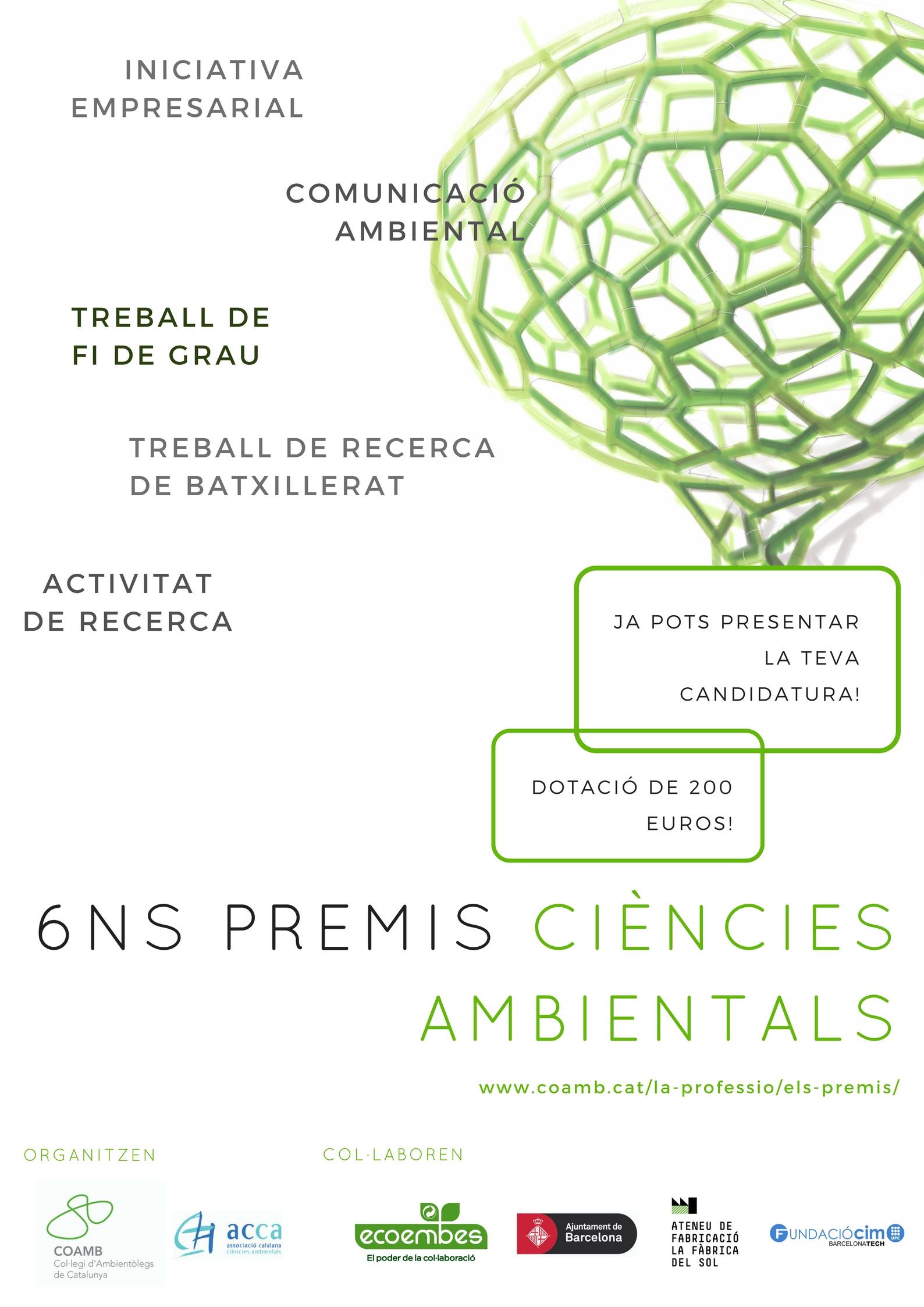 Poster premis Ciències Ambientals 2017
